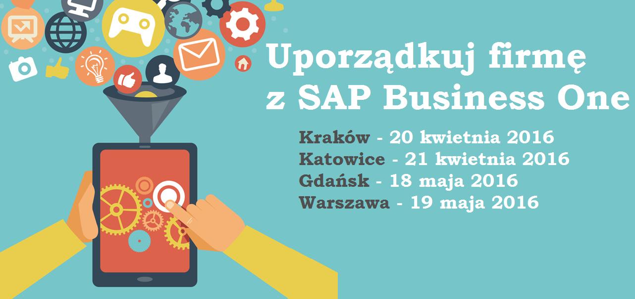 Uporządkuj firmę<br> z SAP Business One<br>